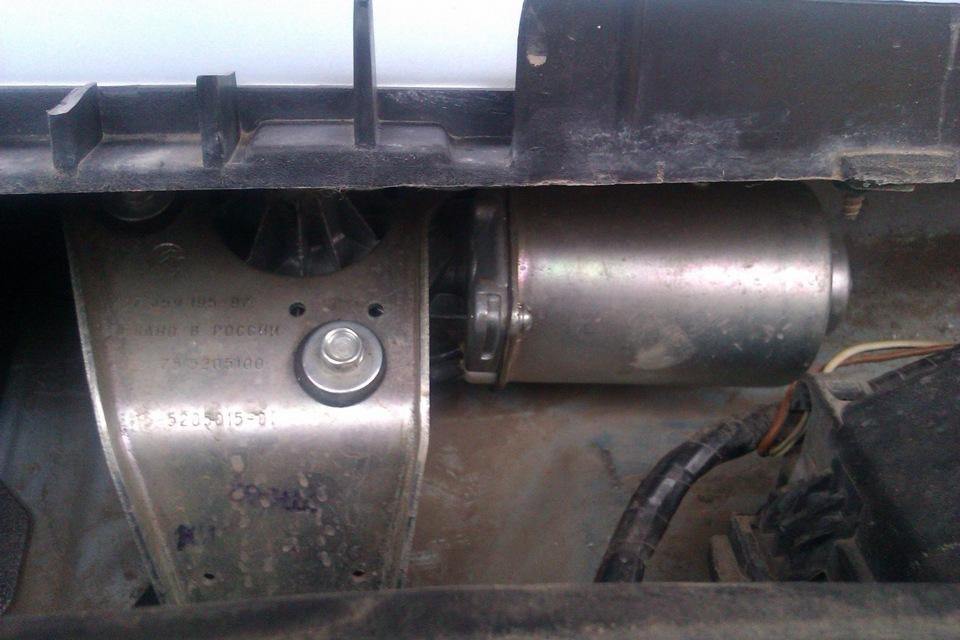 замена моторчика стеклоочистителя ваз 2109 от bmw