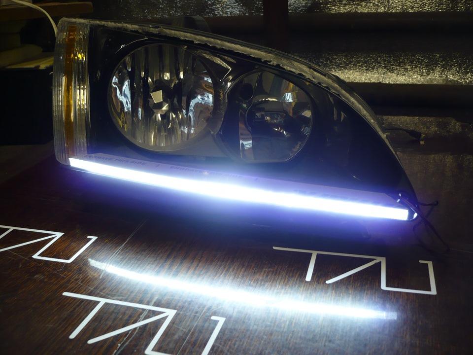 дневные ходовые огни ford focus 2 рестайлинг
