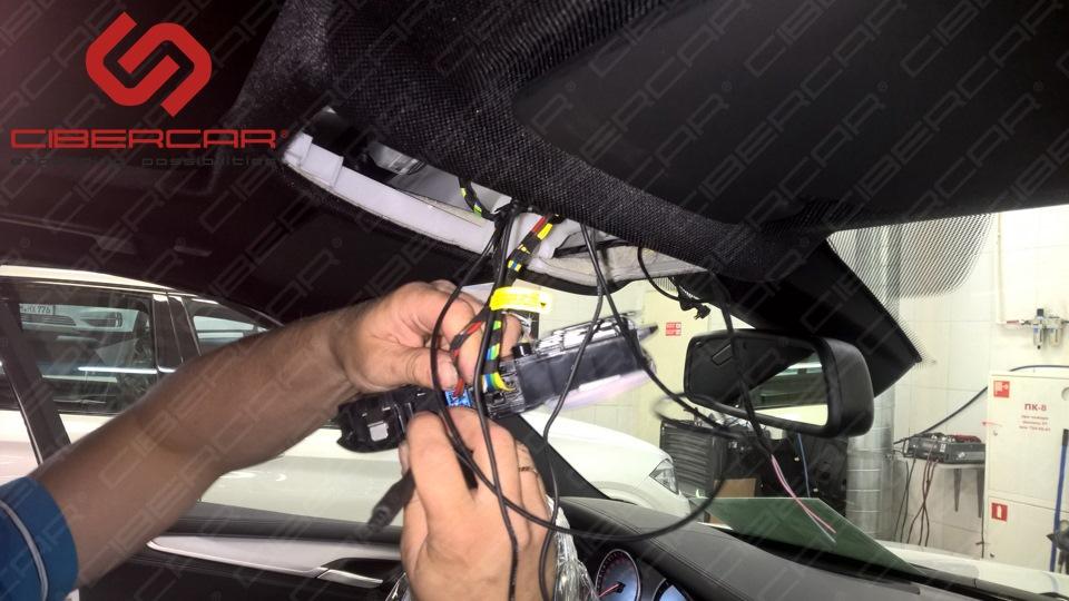 Процесс интеграции передней камеры.