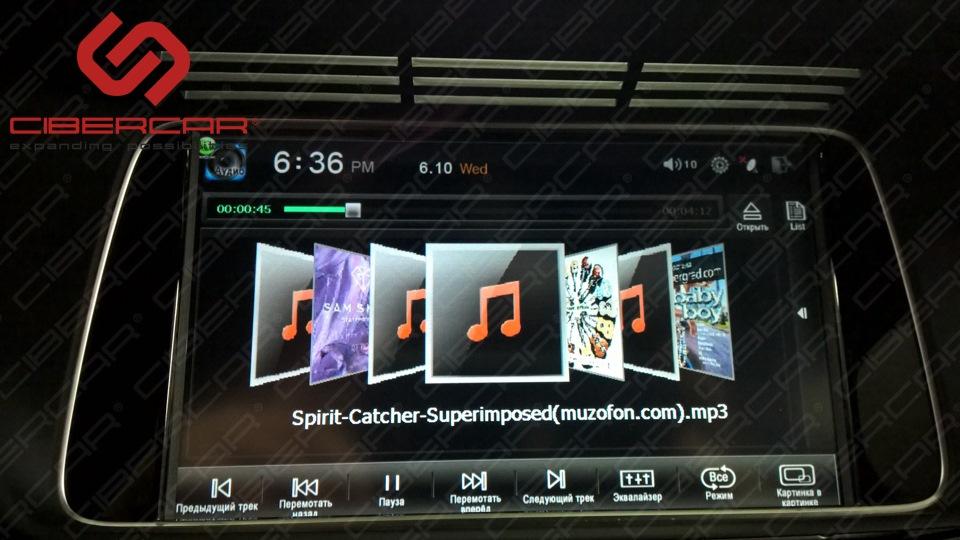 Развлекательный комплекс VI-NAVI: теперь на экране оригинального монитора можно смотреть фильмы.