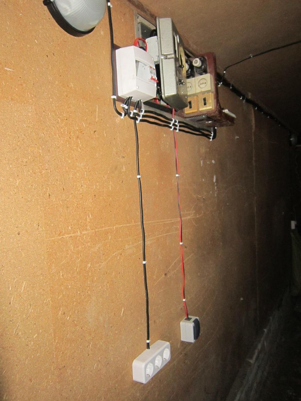 Подключить электричество к железному гаражу каркасный гараж деревянный купить