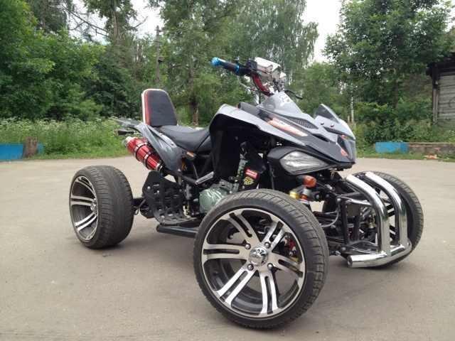 Квадроцикл CFMOTO CF500-2A - kvadropark.ru