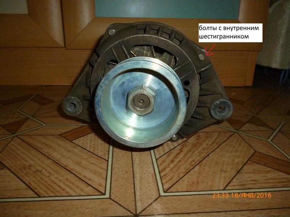 f45f26s 960 - Увеличенный шкив генератора ваз 2110