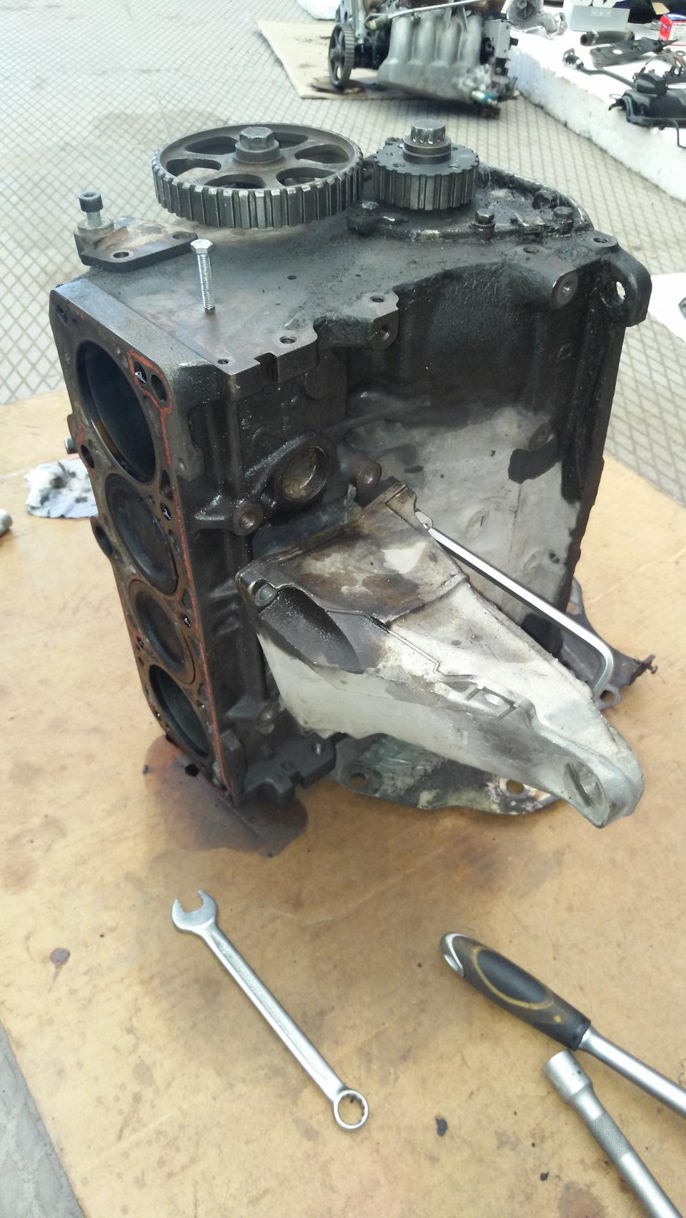 Капремонт двигателя 80 б3 своими руками