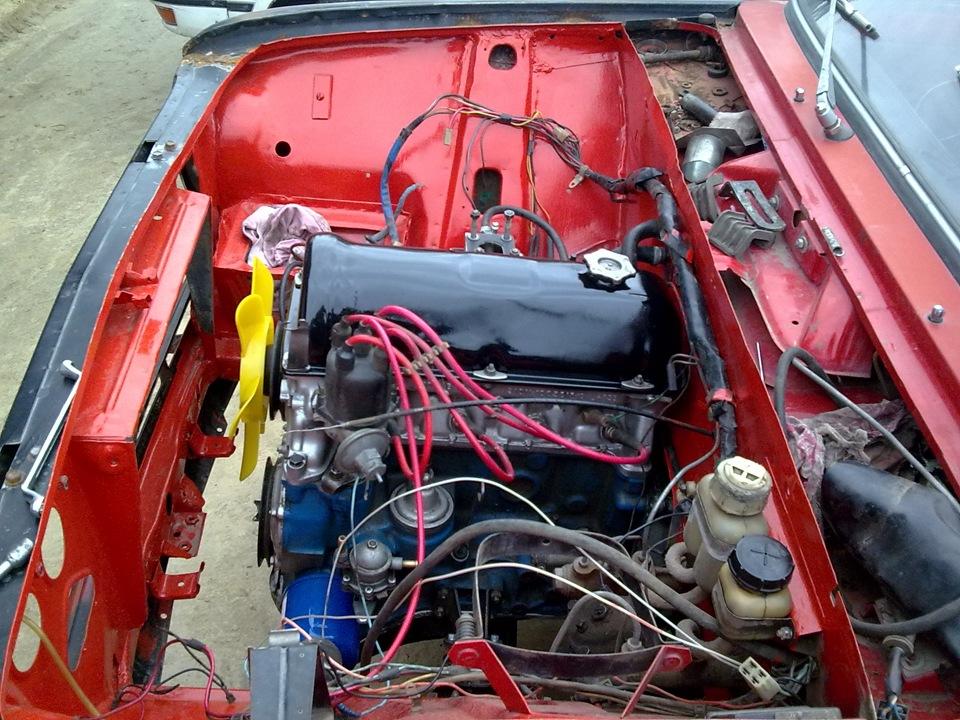 двигатель фиат 124 характеристики