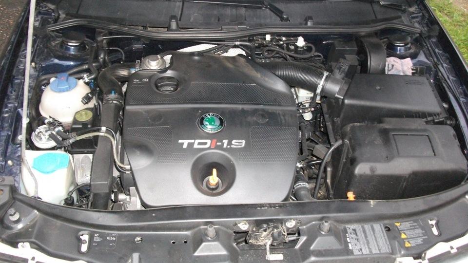 устройство двигателя 1.9тди skoda octavia, 2000 г.в.