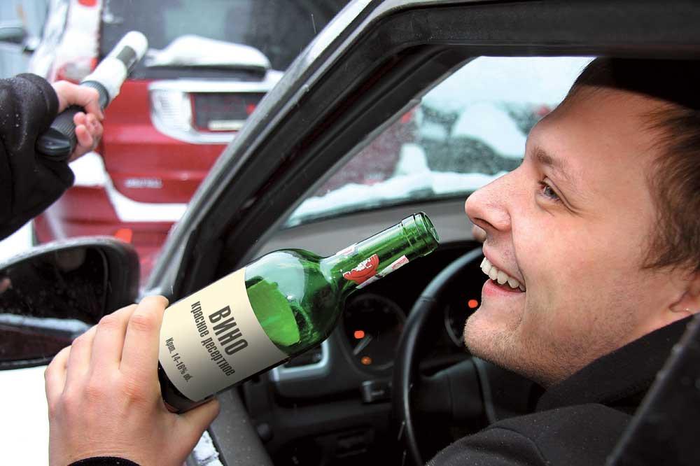 езда пьяным без прав
