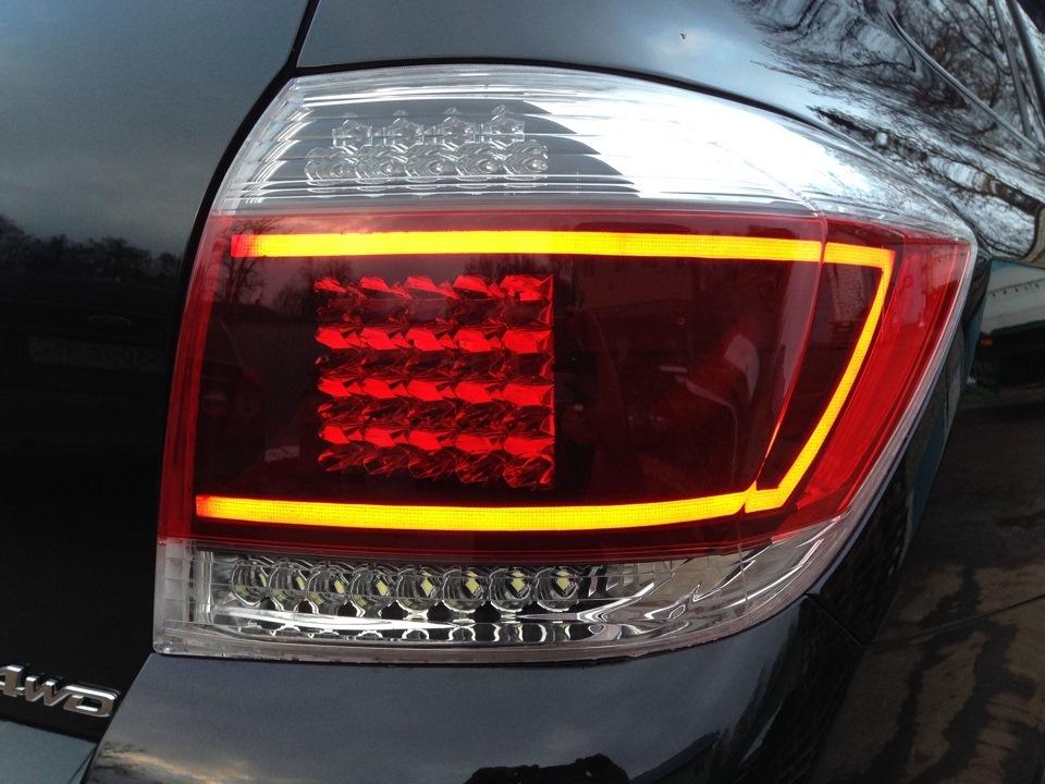 Диодные фонари на авто