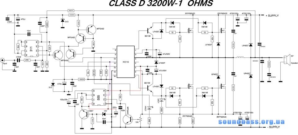 Схемы усилителей класс
