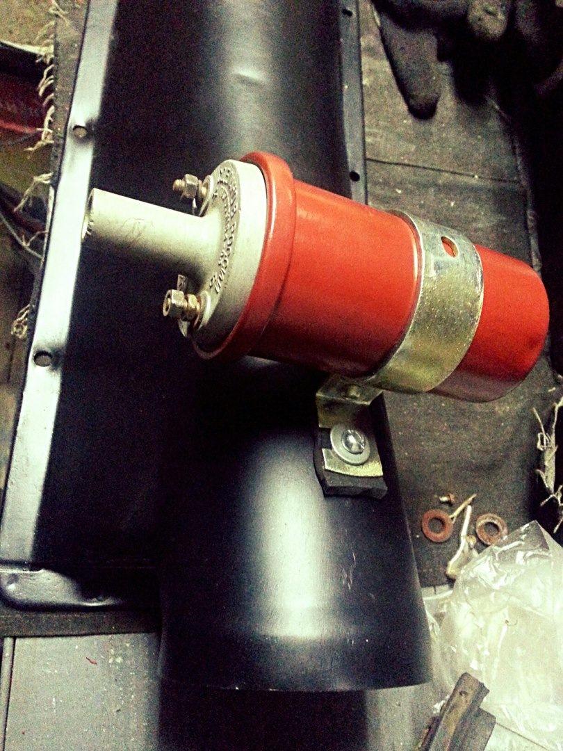 схема контактной системы зажигания 2101