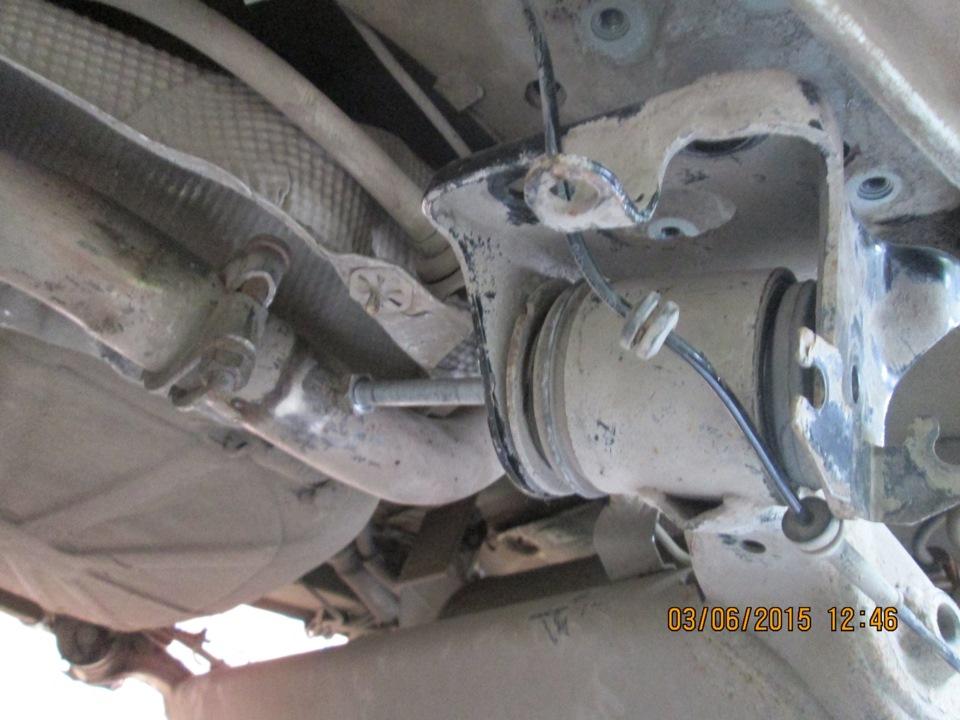 замена сайлентблока задней балки на фиат альбеа