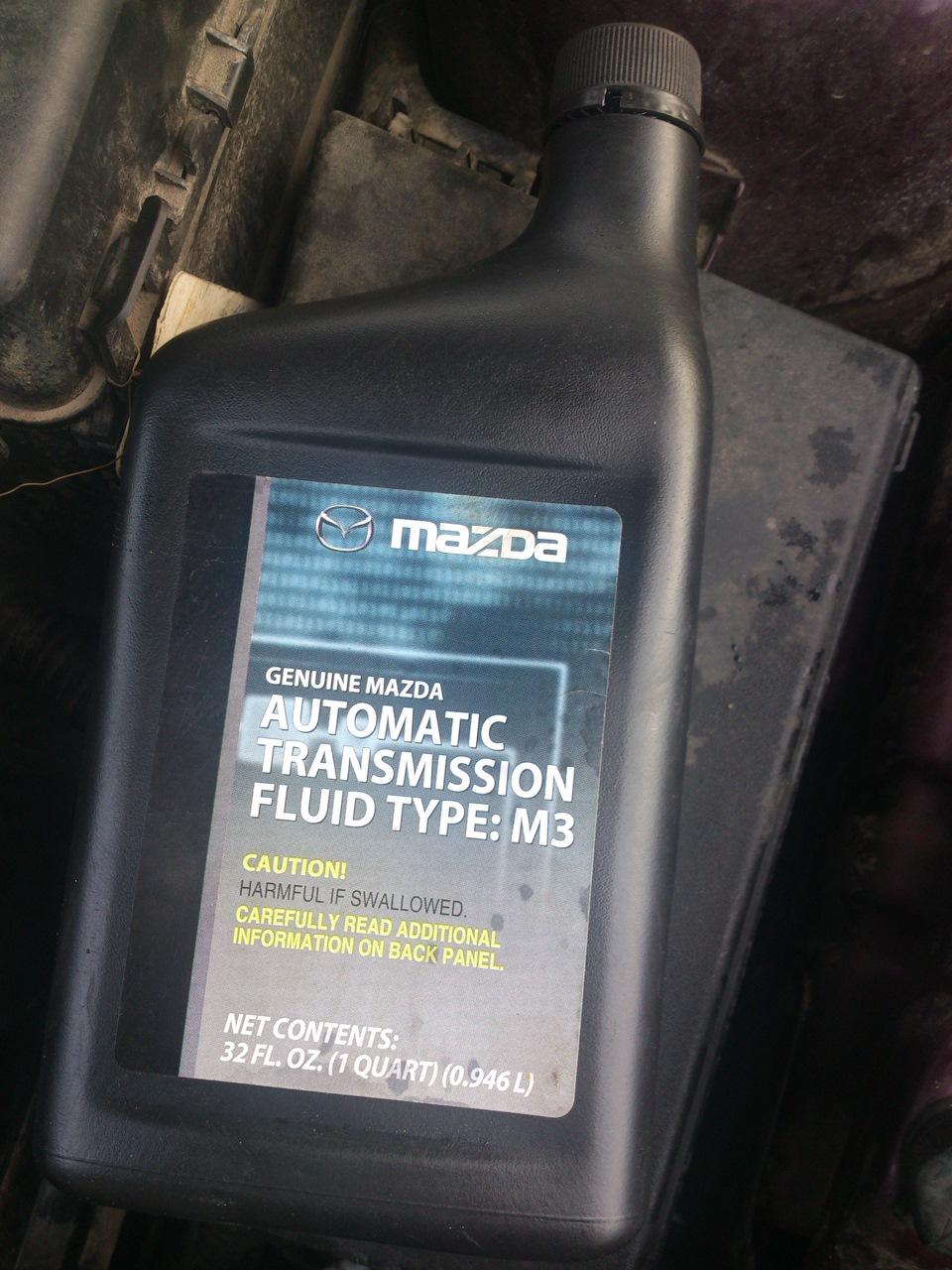трансмиссионное масло mazda m3