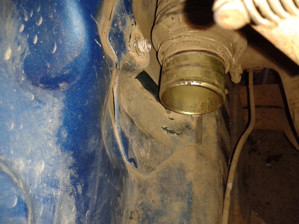 Как заменить шпильку крепления рулевой рейки