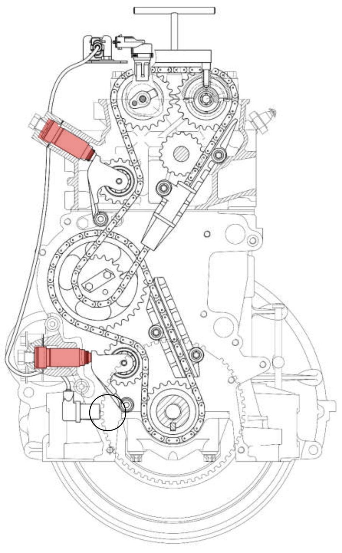 схема двигатель змз 405