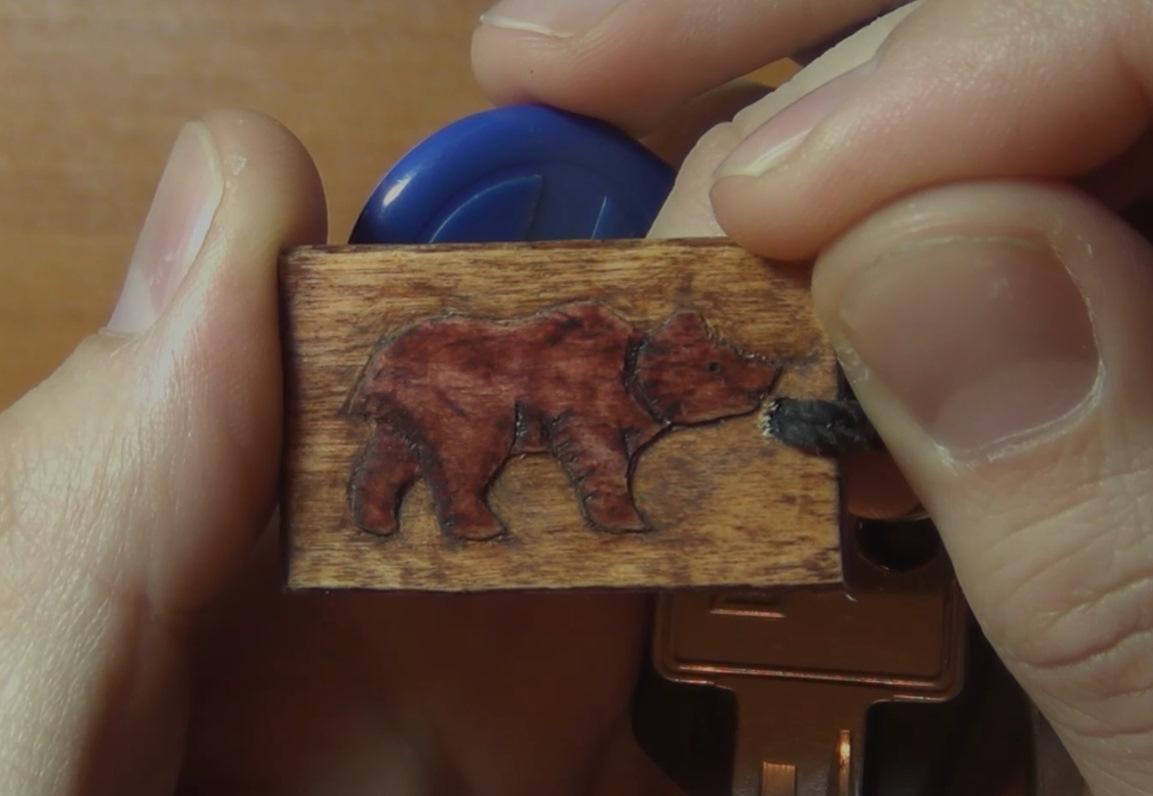 Медведь своими руками из дерева 67