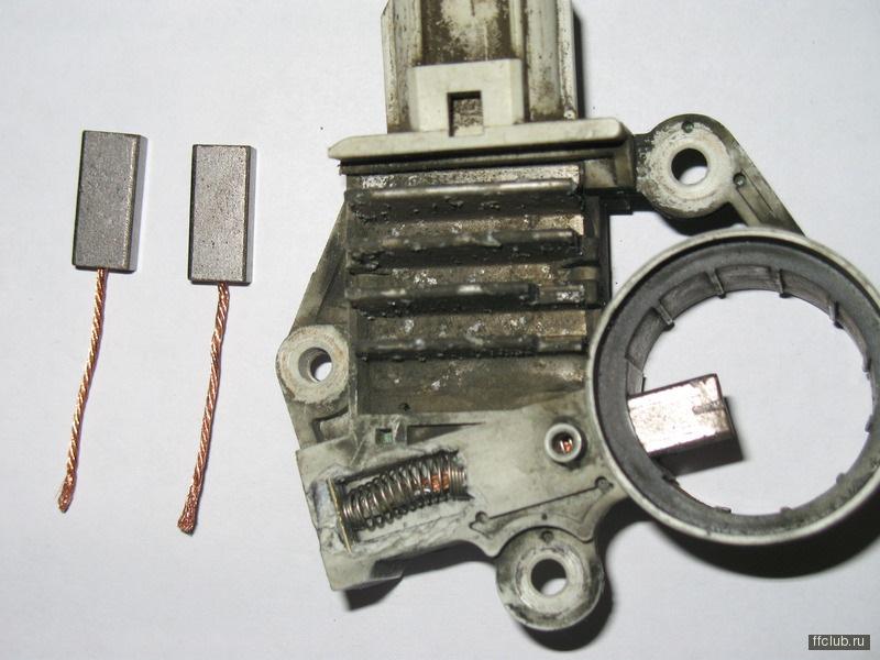 щетки генератора на фьюжн пройти процедуру смены