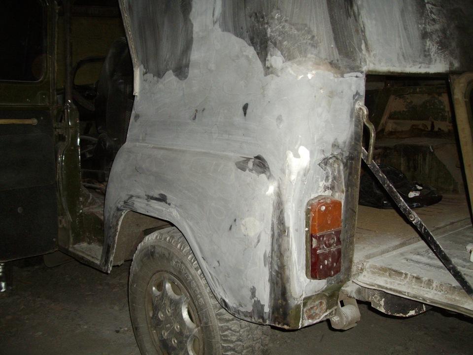 Уаз ремонт кузова своими руками