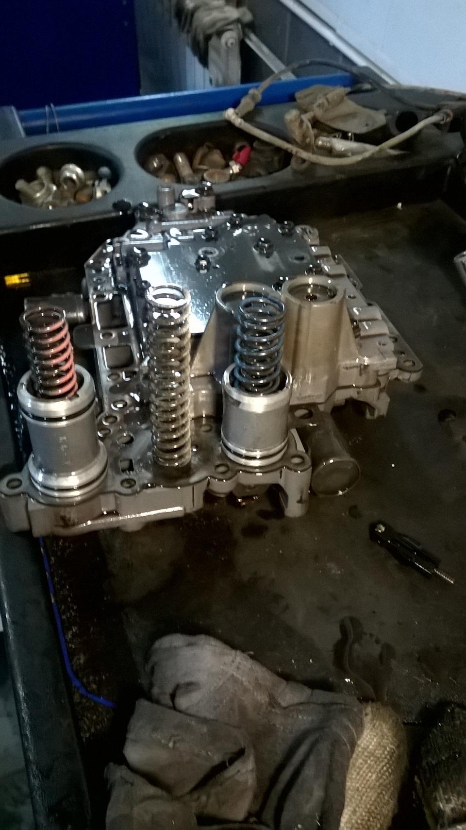 Акпп u140f ремонт