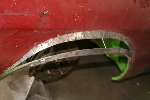 Как сделать арки на авто
