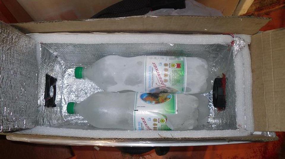 Как сделать переносной холодильник своими руками видео