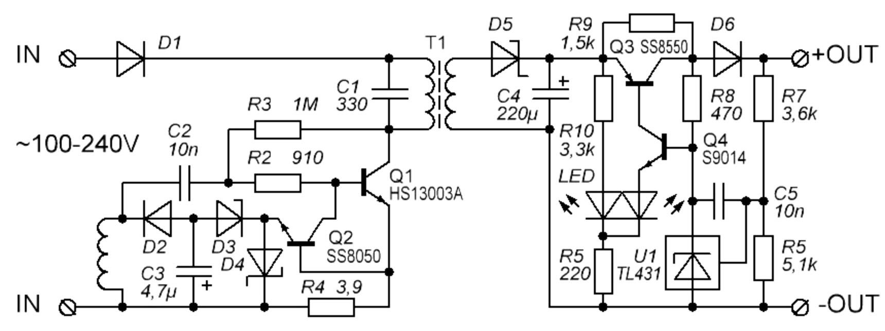 схемы зарядных устройств для фотокамер полевых цветов