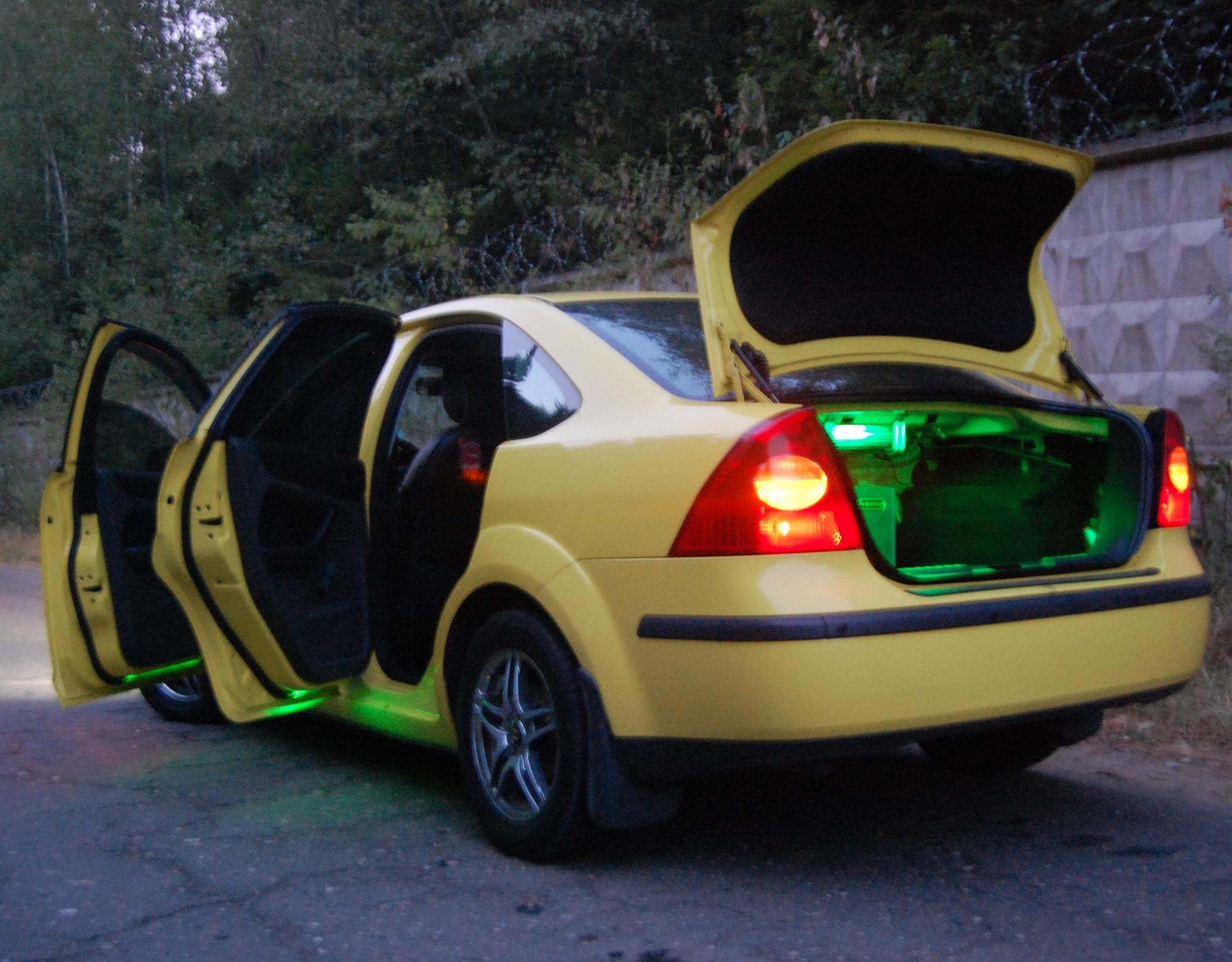 Подсветка дверей форд фокус 2 182