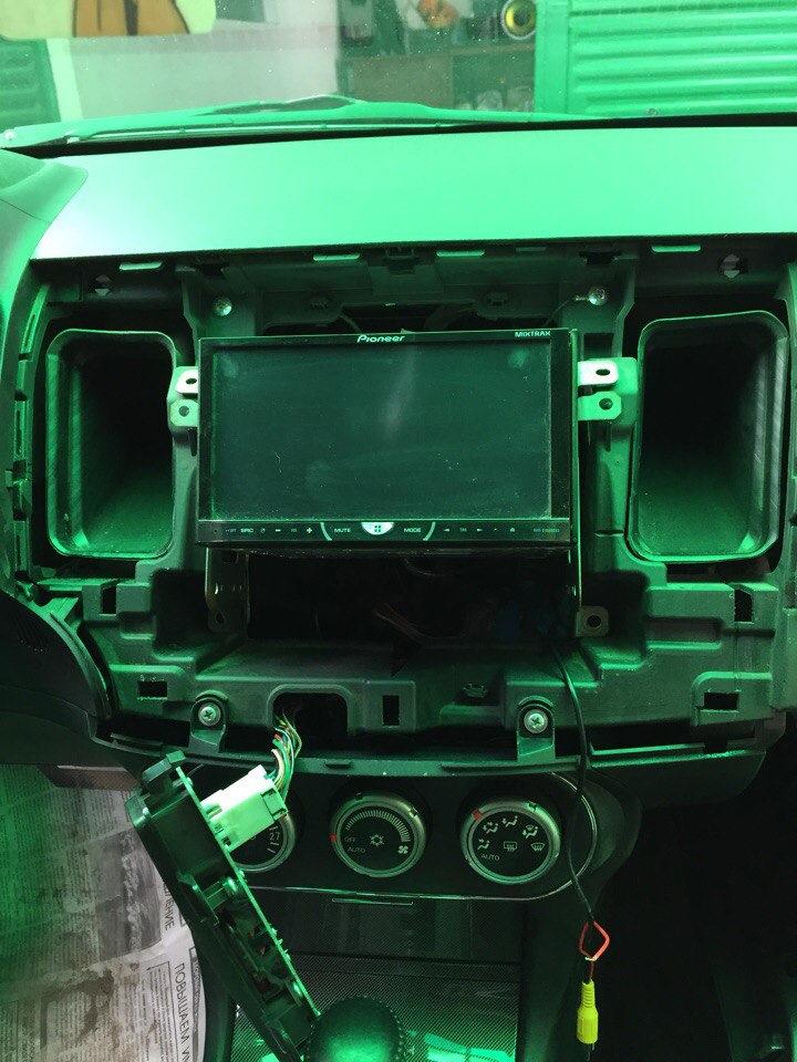 Камера заднего вида пионер