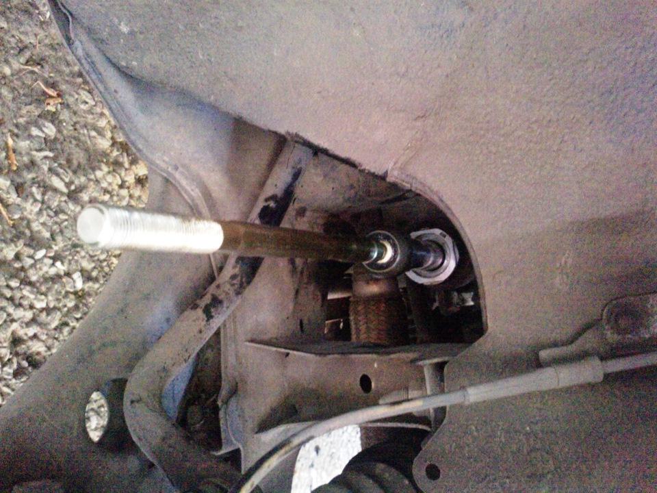 Замена рулевых тяг мазда 3