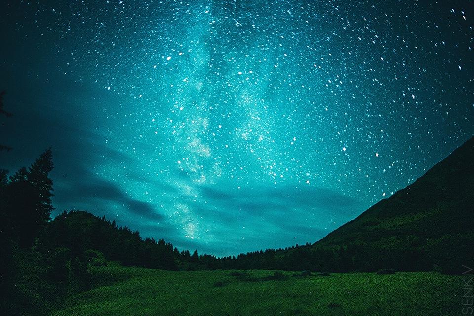 самое красивое звездное небо фото иконы