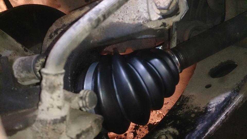 Замена пыльника внешнего шруса форд фокус 2 своими руками 48