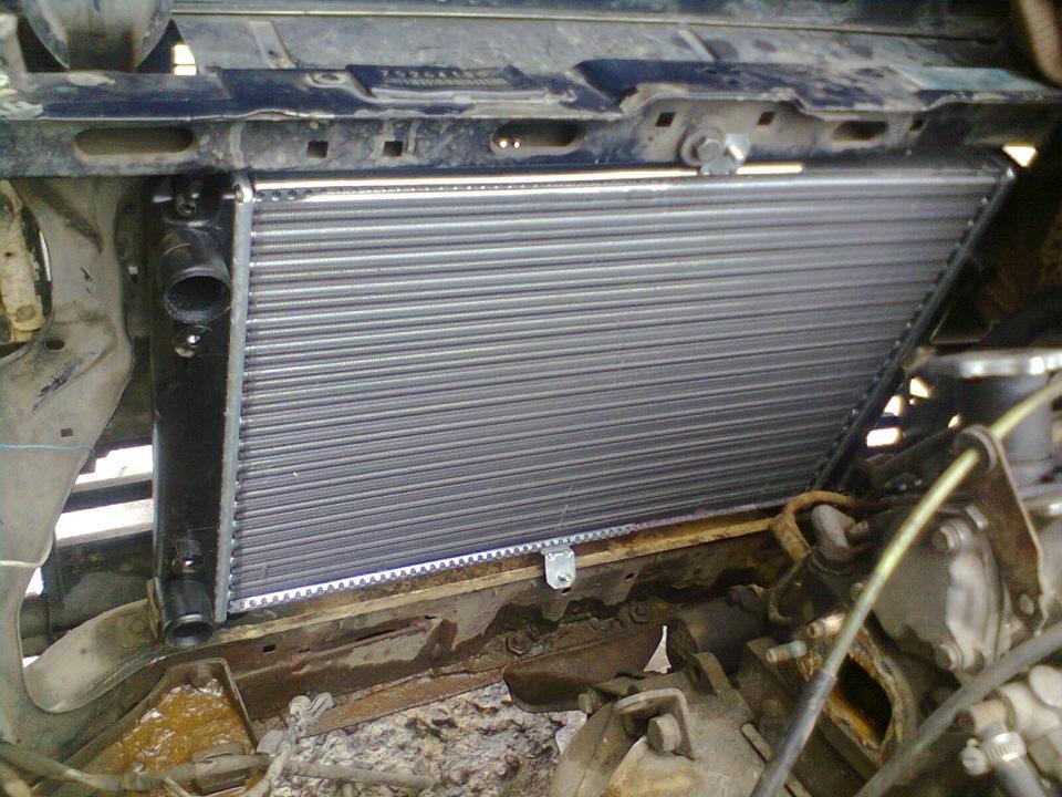 Фото радиатор ваз 2109