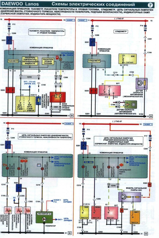 Схема подключения форсунок сенс