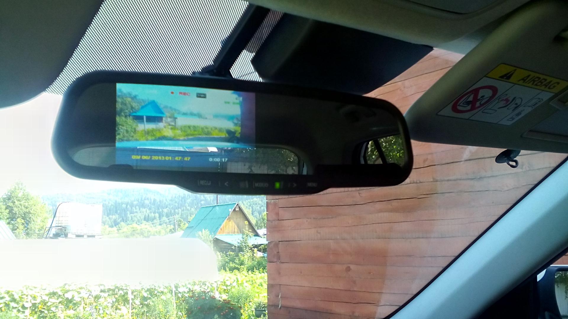 Регистратор hyundai зеркало podofo автомобильный видеорегистратор камеры g30 full hd 1080