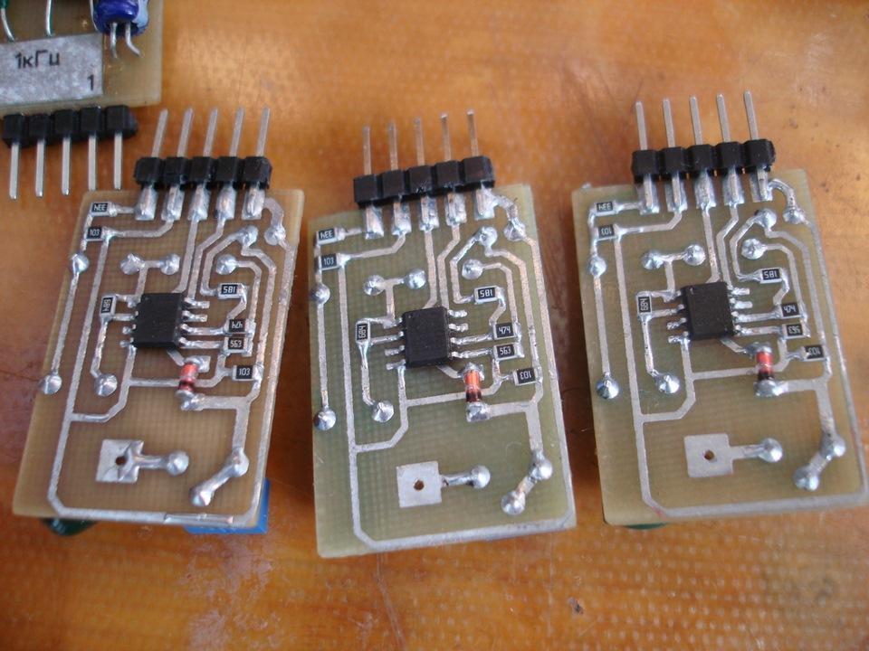 Ну и силовые ключи на MOSFET
