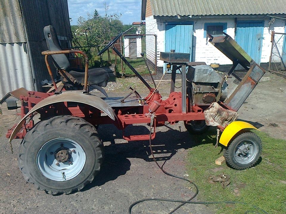 Как сделать большой трактор своими руками 89
