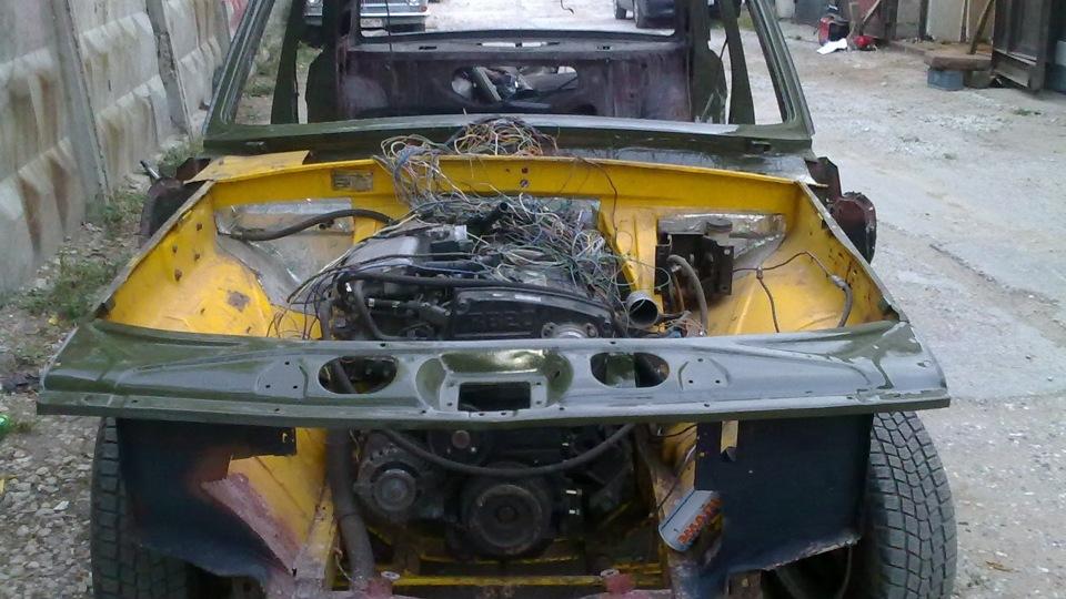 ГАЗ 24 -75 Nissan RВ20DЕT