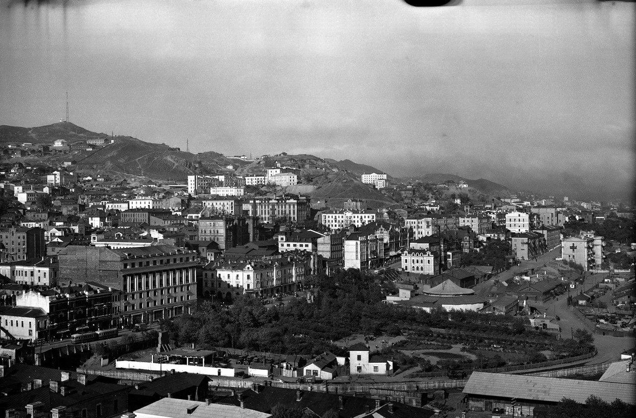 Владивосток старые фото фуникулера как он строился администрации