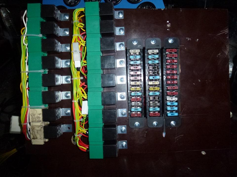 Электрика (Блок реле и
