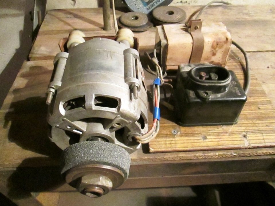 Как сделать из электродвигателя от стиральной машины 751
