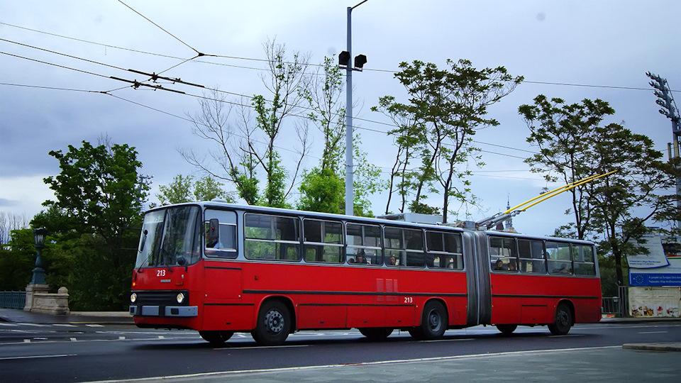 Троллейбус из Ikarus-280 — это не сказка, это быль!