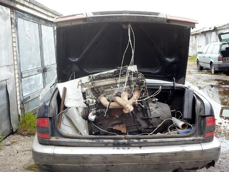 Чем поднять двигатель в гараже