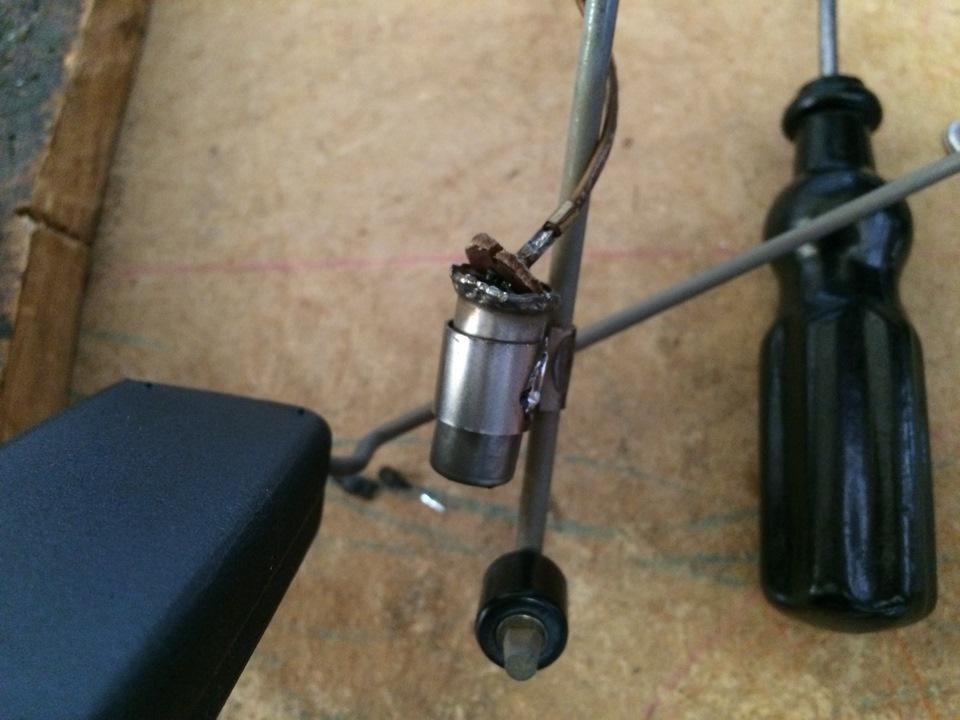замена терморезистора датчика уровня топлива honda