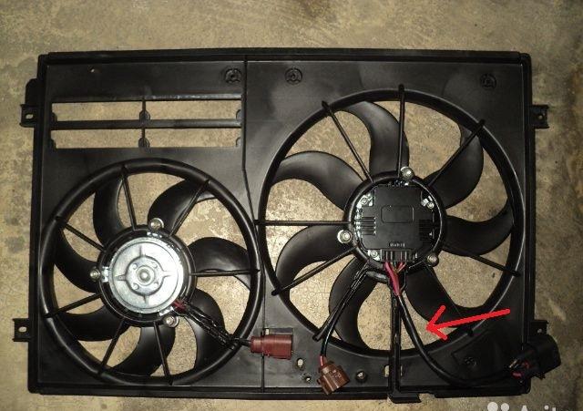 снять радиатор охлаждения skoda octavia rs