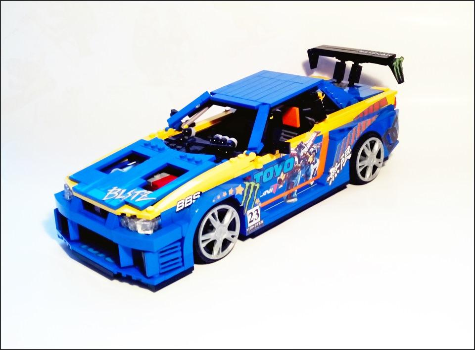"""Nissan Skyline из ЛЕГО - Сообщество """"Масштабные Модели"""" на DRIVE2"""