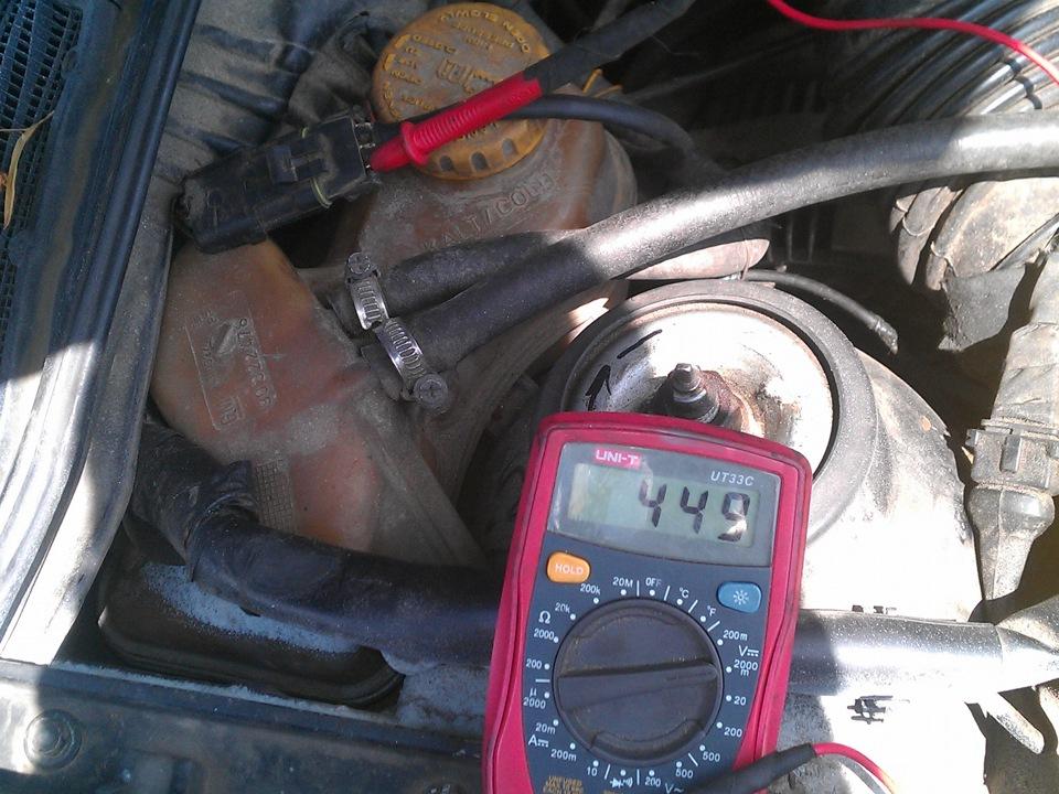 Фото №8 - проверка датчиков ВАЗ 2110 инжектор мультиметром