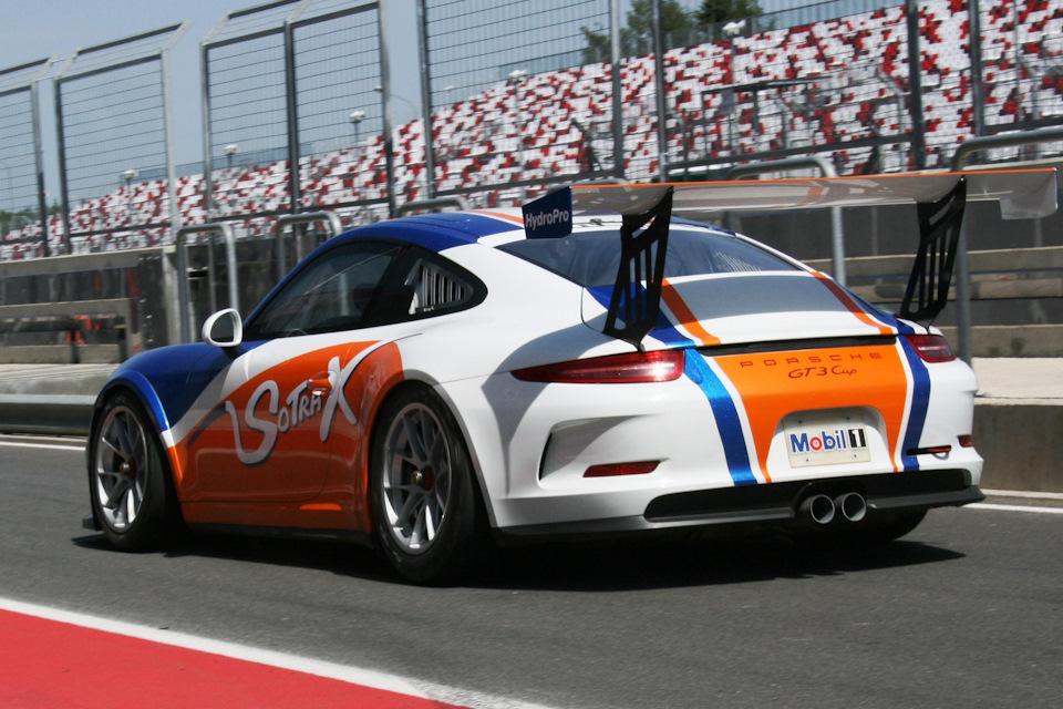 991 GT3 Cup Вадима Гитлина