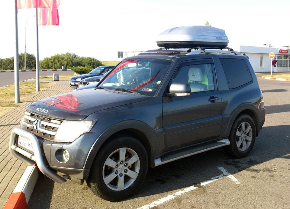 Багажник на крышу автомобиля на паджеро