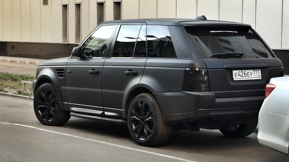Land Rover Range Rover Sport Black Matte Drive2