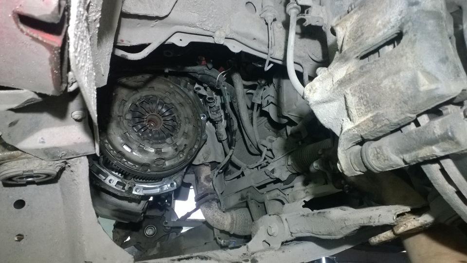 Замена сцепления форд мондео 1 своими руками