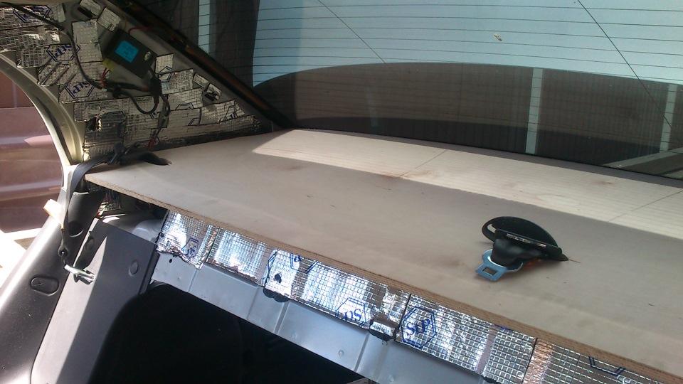 акустическая задняя полка chevrolet aveo t250